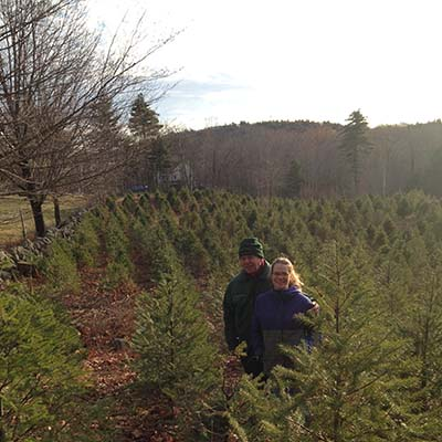 varney homestead christmas tree farm alton nh